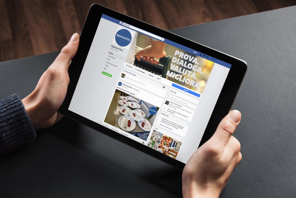 OpinionCity è su Facebook, segui anche tu la nostra pagina!