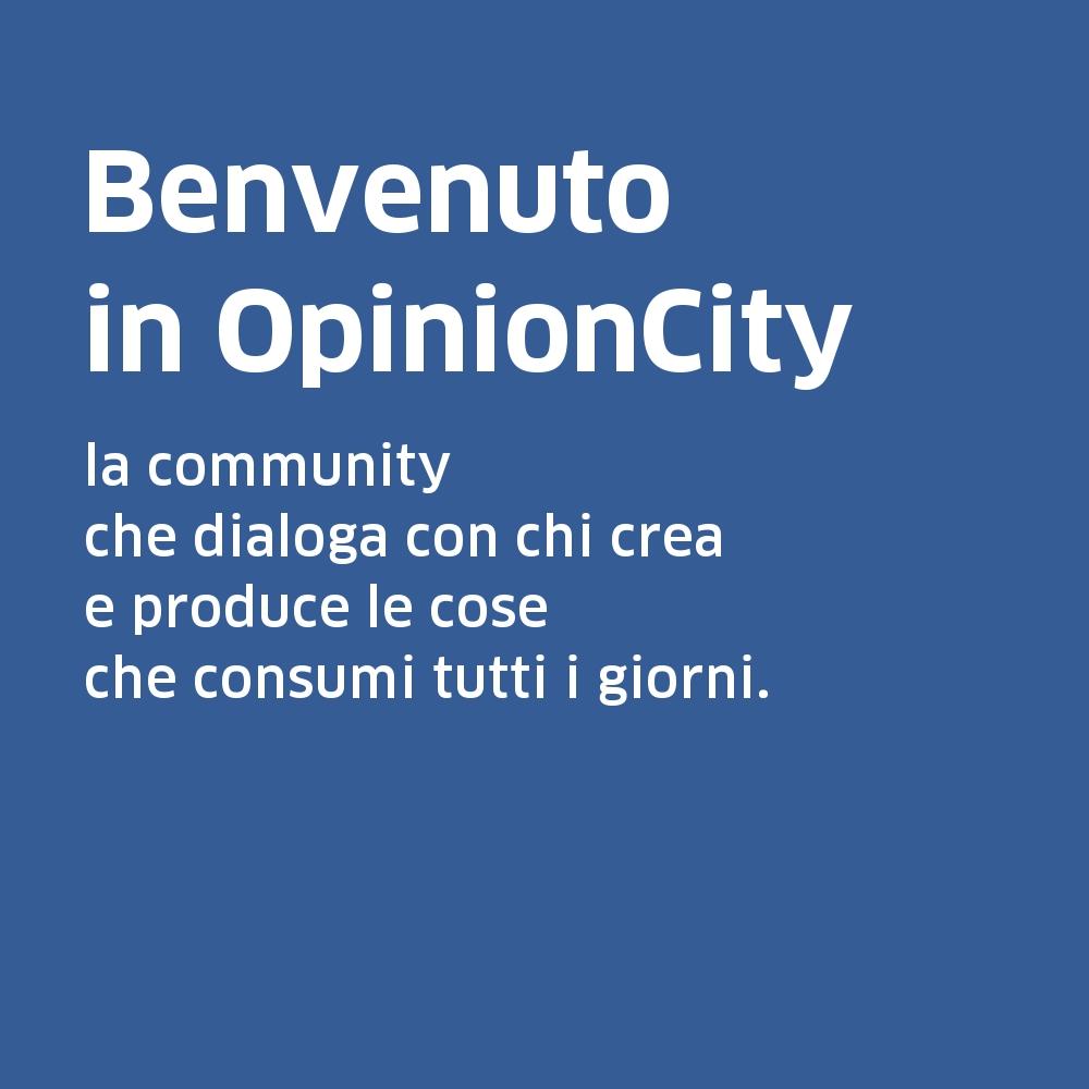 Benvenuto in OpinionCity