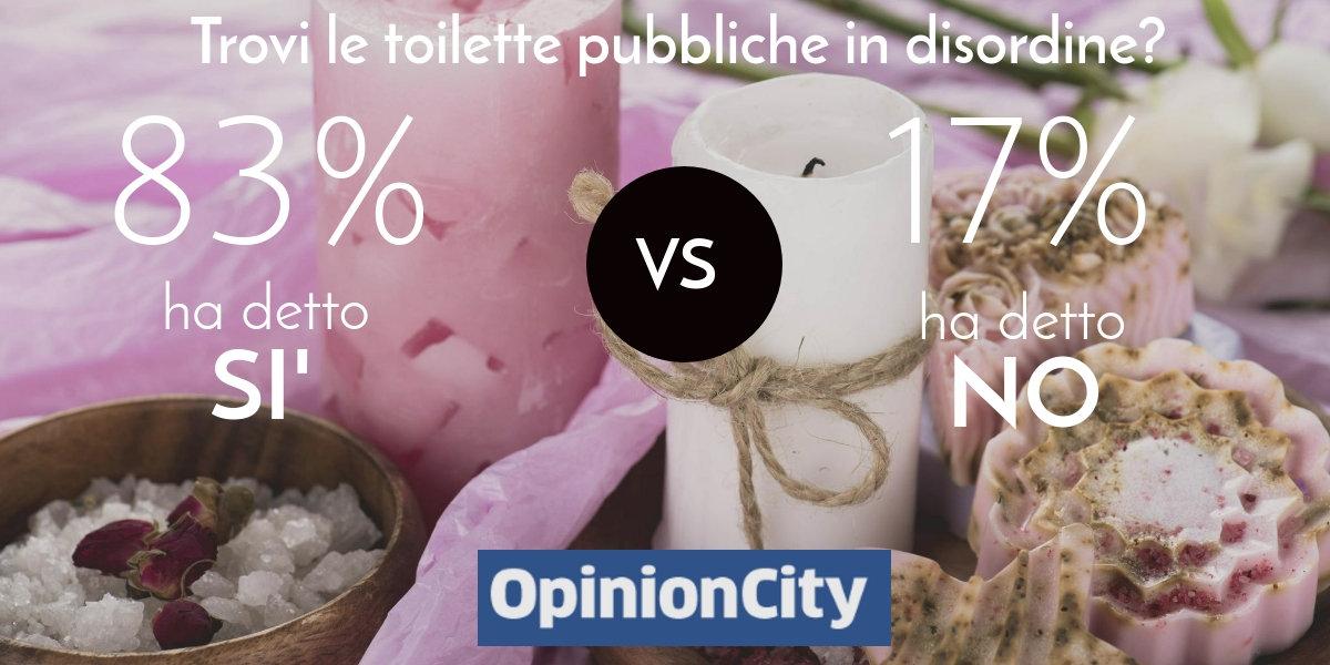 risultati toilette pubbliche