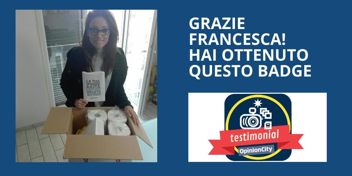 Testimonial Francesca
