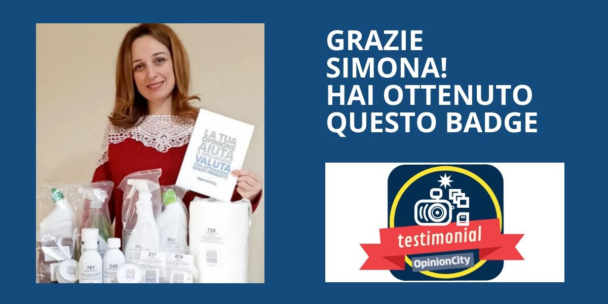 Testimonial. Simona