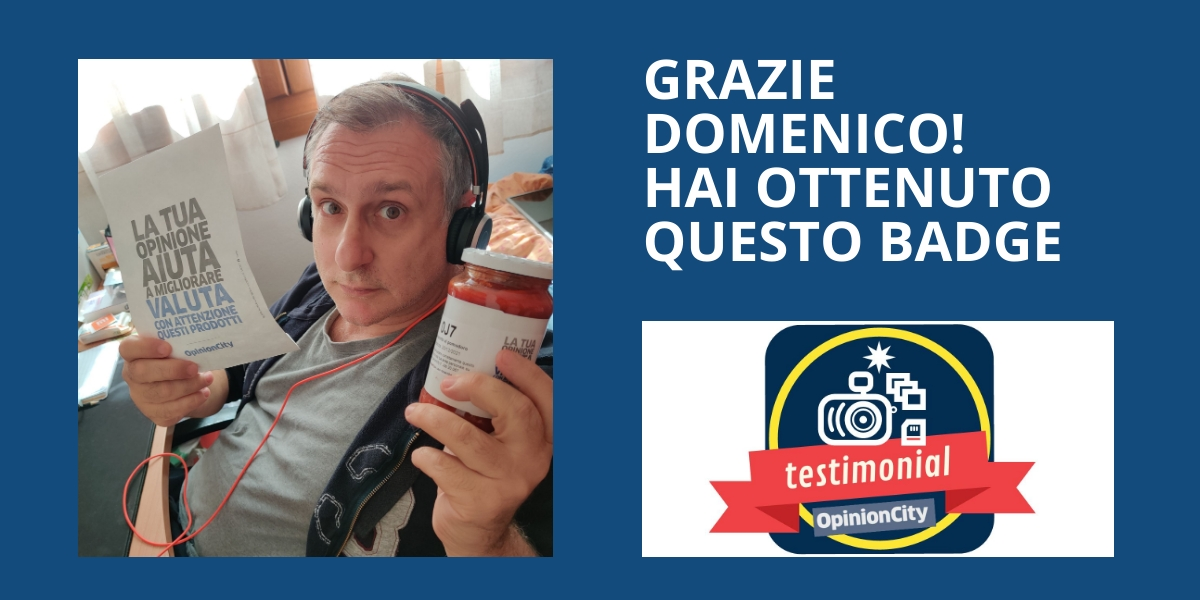 testimonial Domenico