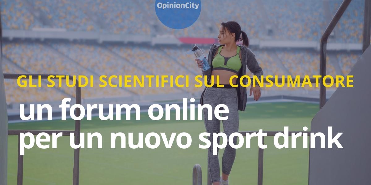 Esperienziali. Un forum online per un nuovo sport drink